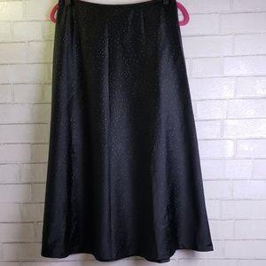 White House Black Market formal black skirt